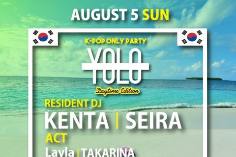 """""""YOLO"""" K-POP ONLY PARTY Daytime Edition"""